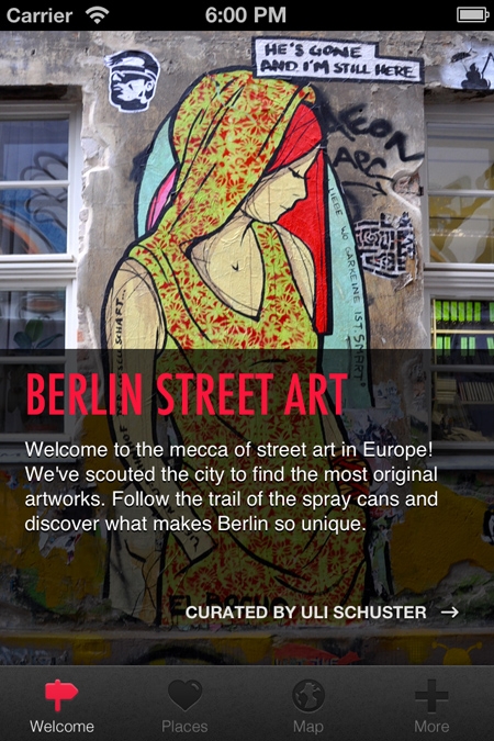 Street Art Berlin Cover