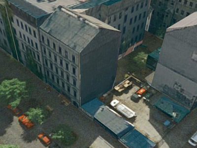 Google Earth - Reichenberger Str. 28, Berlin